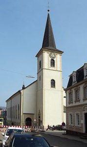 Allerheiligenkirche Wadern Aussenansicht