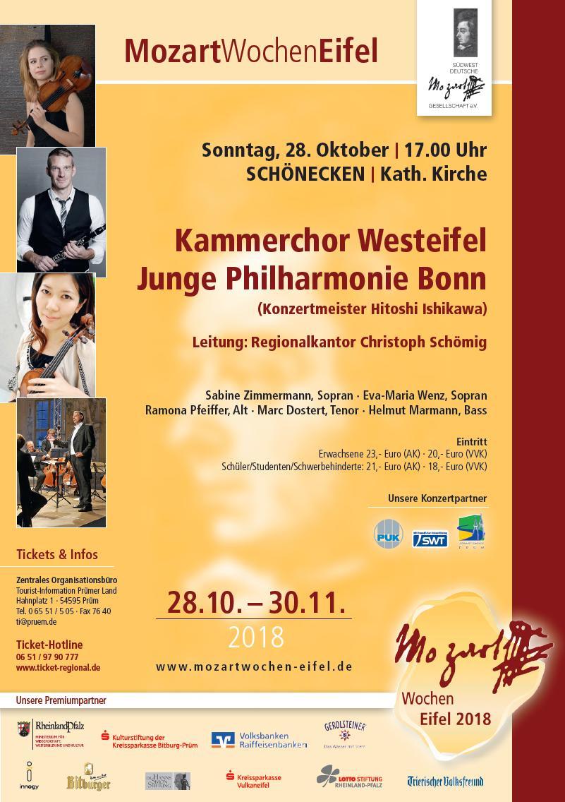 2018 Mozartwochen Plakat