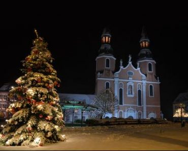 Basilika im Winter